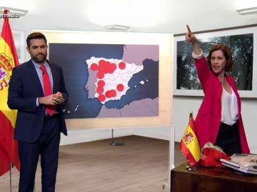 """La 'reacción' de Ayuso al conocer las restricciones: """"¡Toda España menos yo está confundida, ¡quiero francotiradores!"""""""