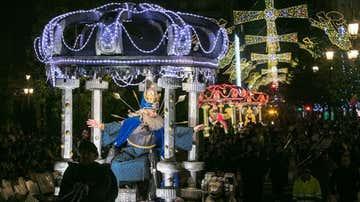 Cabalgata de los Reyes Magos en Madrid (archivo)