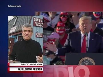 """Guillermo Fesser explica cómo actúan Trump y Biden en la recta final: """"Ambos candidatos afirman que el otro hará trampas"""""""