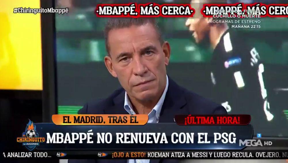 """Buyo, sobre la salida de Mbappé del PSG: """"El jeque podría pedir dinero más Benzema"""""""