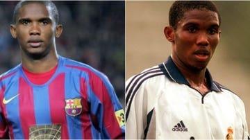 Eto'o, exjugador del FC Barcelona y del Real Madrid
