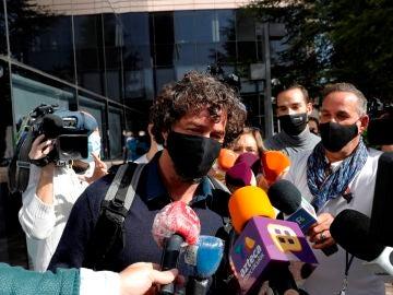 Nacho Palau, expareja del cantante Miguel Bosé
