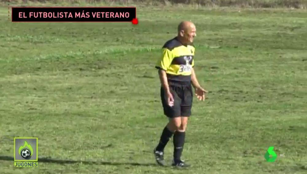 futbolista más veterano