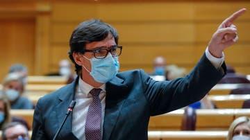 El ministro de Sanidad Salvador Illa