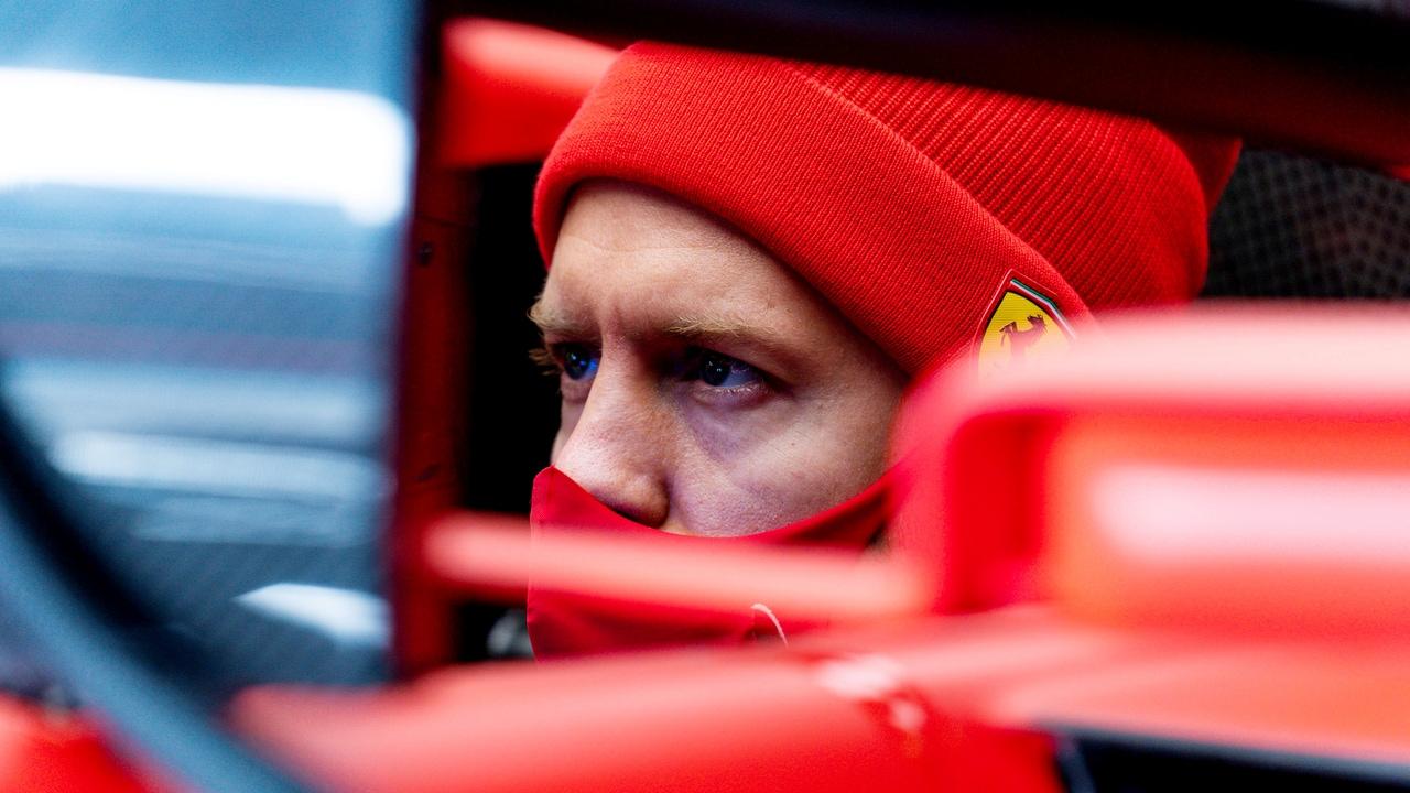 Sebastian Vettel, expiloto de Ferrari
