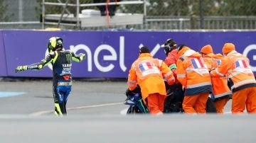 Valentino Rossi, en el GP de Francia