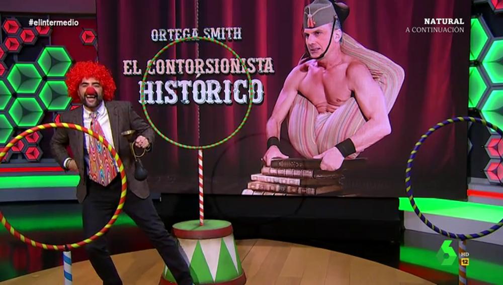 """La tajante respuesta de Dani Mateo a Ortega Smith tras afirmar que """"con Franco hubo elecciones"""""""