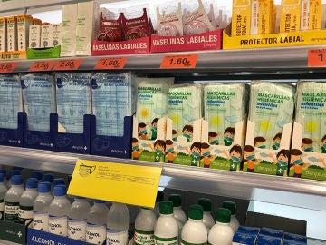 Mercadona baja el precio de sus mascarillas higiénicas