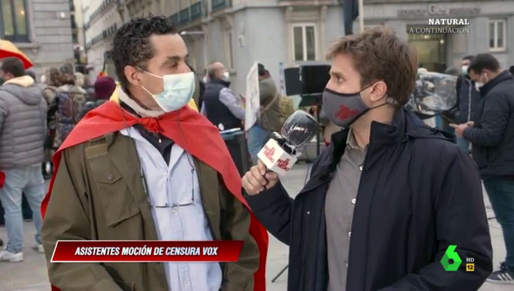 """La pregunta de Pablo Ibarburu a un votante de Vox que critica a España: """"¿Y por qué te gusta tanto este país entonces?"""""""