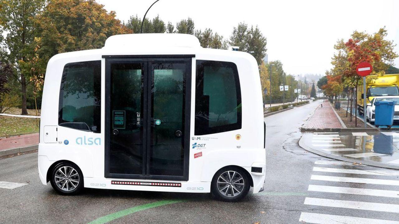El autobús eléctrico estrenado en Madrid