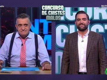 """Dani Mateo y Wyoming compiten contando chistes malos: """"¿Cómo llaman en Castilla y León al toque de queda? Invierno"""""""