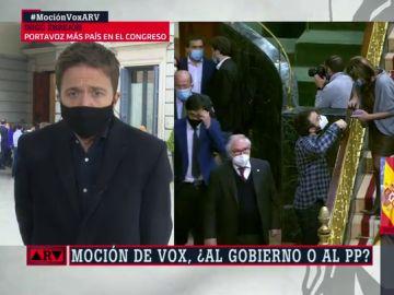 """Errejón reprocha la ambiguedad del PP ante la moción de censura de Vox: """"Ojalá no se hubiera pasado toda una semana dudando"""""""