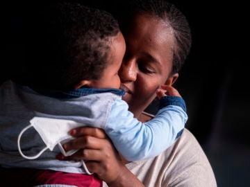 Aissa Didla fue separa de su hijo al llegar a Fuerteventura