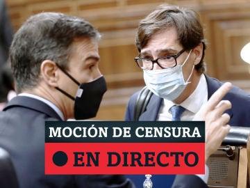 Moción de censura de Vox contra el Gobierno, Pedro Sánchez en directo