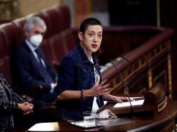 Aina Vidal en el Congreso de los Diputados