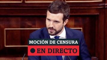 Moción de censura de Vox: el PP votará 'no', en directo
