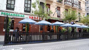 Terraza en Bilbao