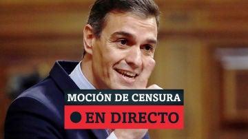 Moción de censura de Vox al Gobierno de Pedro Sánchez, en directo