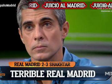 José Luis Sánchez sienta cátedra en 'El Chiringuito': el gran problema del Madrid y Zidane