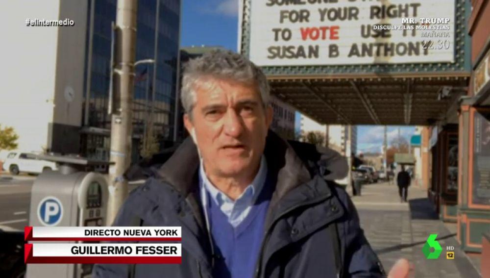 """El análisis de Guillermo Fesser a un día de las elecciones en EEUU: """"Se esperan episodios de violencia social"""""""