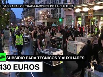 El Gobierno impulsará una ayuda de 430 euros para los trabajadores de la cultura afectados por la pandemia