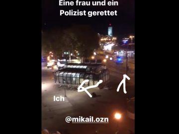 Confundidos con terroristas al arriesgar su vida por un policía: dos jóvenes turcos se convierten en los héroes del atentado de Viena