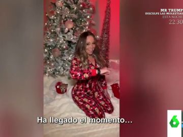Mariah Carey anuncia el comienzo de la Navidad al ritmo de 'All I want for Christmas is you'