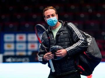 Nicolás Massú, en el ATP de Viena