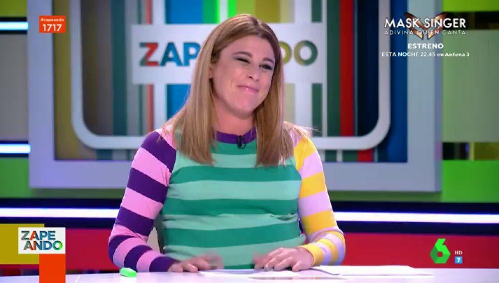 El divertido monólogo de Valeria Ros en su emotiva despedida de Zapeando
