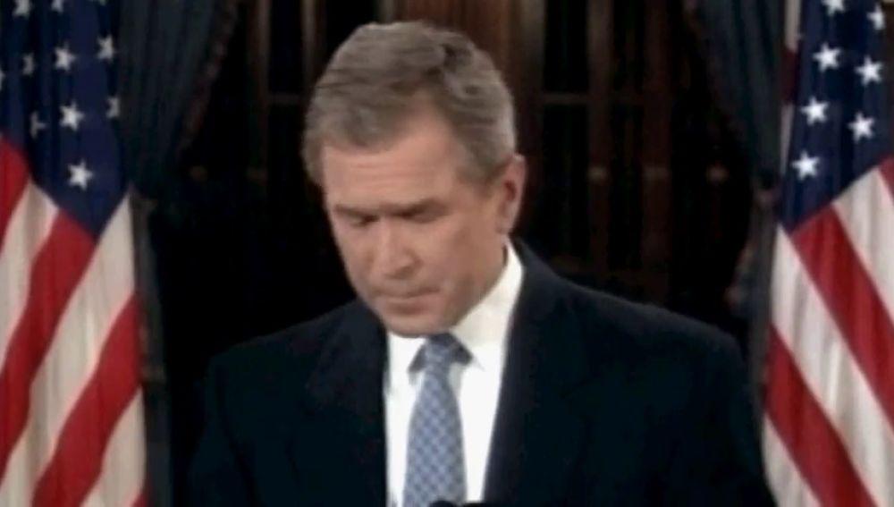 George W. Bush, en una imagen del año 2000