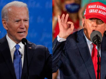 Imagen de Joe Biden y Donald Trump
