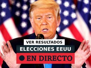Elecciones en EEUU: Resultados de Trump y Biden, última hora en directo