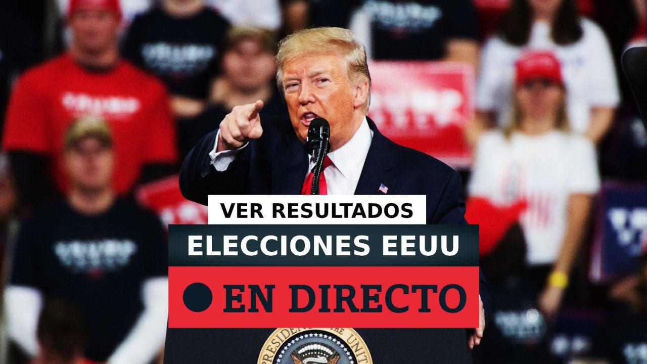 Resultados Elecciones EEUU 2020: Biden vs Trump en las votaciones de Estados Unidos, en directo