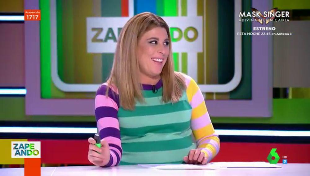 """El """"miedo"""" de Valeria Ros al parto de su primera hija: """"Tiene un cabezón como mi novio"""""""