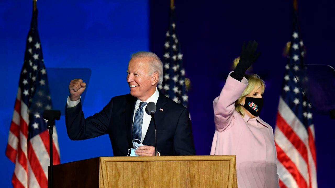 El candidato demócrata a la Presidencia de EE.UU., Joe Biden