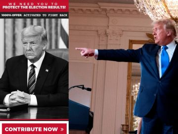 Campaña de recaudación de fondos de Trump