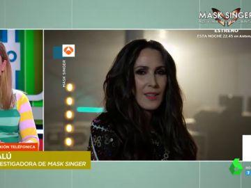 La confesión de Malú sobre uno de los concursantes de 'Mask Singer'