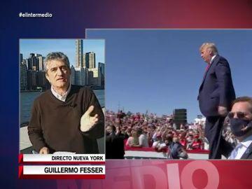 """Guillermo Fesser: """"Trump se está preparando el retorno, Berlusconi 2. Los republicanos están rendidos a sus pies"""
