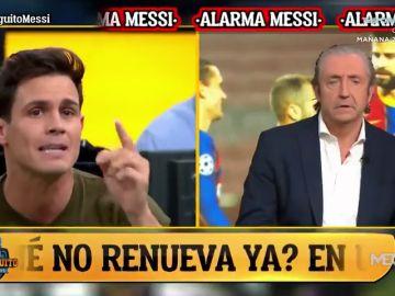 Tenso cara a cara entre Pedrerol y Edu Aguirre: ¿Es Messi el mejor del mundo?