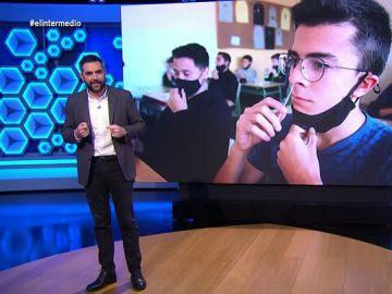 """Dani Mateo propone un plan a Cataluña para los alumnos que den positivo en las PCR: """"Para que sepan autointubarse"""""""