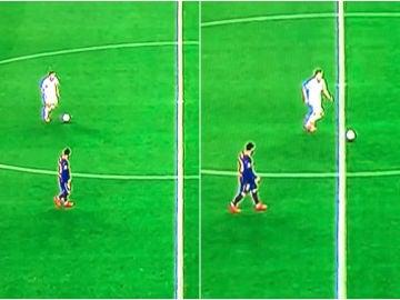 La imagen de la vergüenza de Leo Messi