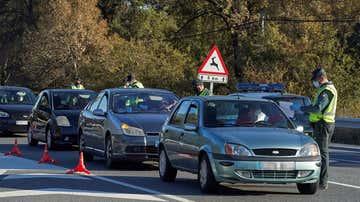 Control en el límite entre Madrid y Castilla y León