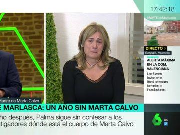 """El ruego de la madre de Marta Calvo, un año después de su desaparición: """"Hay más víctimas que por miedo no denuncian"""""""
