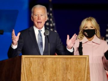 El candidato demócrata la Casa Blanca, Joe Biden