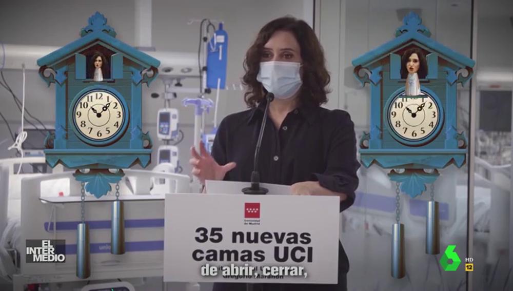 """""""Abrir, cerrar, ahora nos va tocando ir cerrándonos"""": así suena el hitazo sobre las restricciones de Ayuso ft Juanma Moreno"""