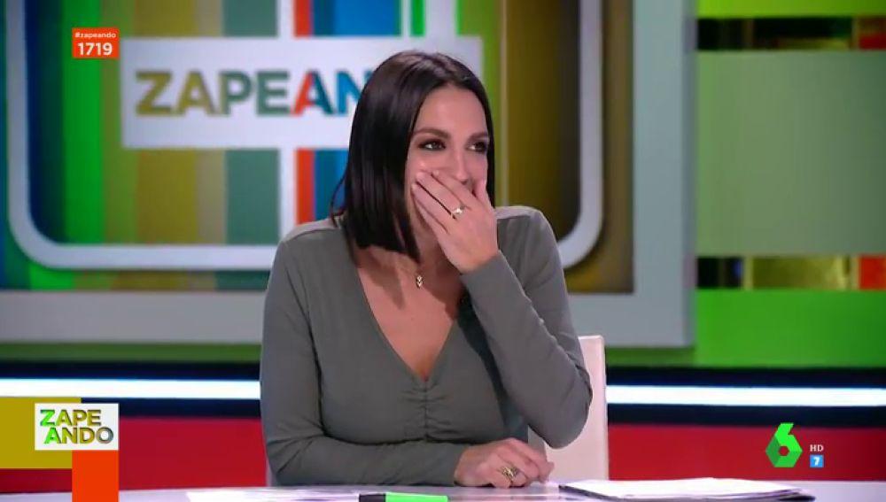 "La escatológica confesión de Lorena Castell sobre zanahorias que 'alucina' a Cristina Pedroche: ""¿De verdad?"""