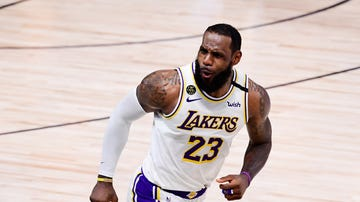 LeBron James, con los Lakers