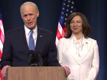 Jim Carrey imita al presidente electo Joe Biden