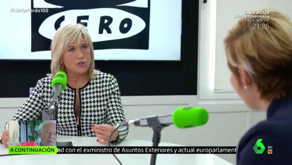 Julia Otero en Liarla Pardo