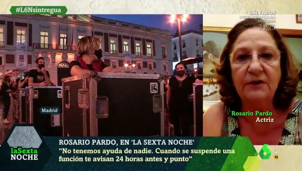 Rosario Pardo en laSexta Noche